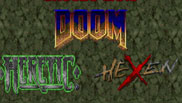 Doom Heretic Hexen